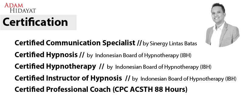 Certification Work ADAM HIDAYAT